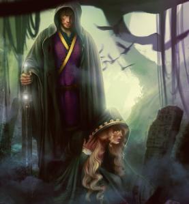 Rollespillet forside er illustrert av Zaina Isard.
