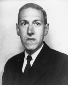 "American author H. P. Lovecraft (1890–1937) is considered one of the early masters of the horror genre, and created the ""Cthulhu Mythos."" Photo: Lucius B. Truesdell, 1934."