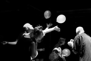Blackbox? Semi-larp? Freeform? Balloon-form? I've lost track. White Death 2014. Photo: Li Xin.